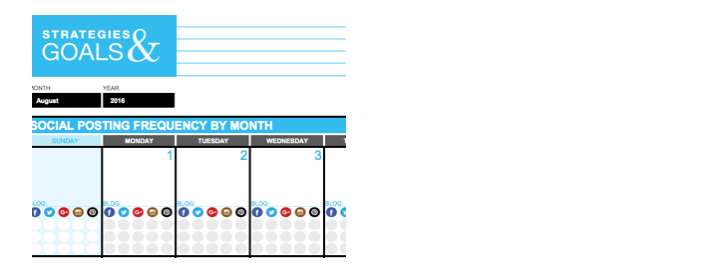 Social media content calendar for you and your business uzu media nifty social media calendar template so you can have the tools to maintain your own campaign below is a partial screenshot with a download of the saigontimesfo