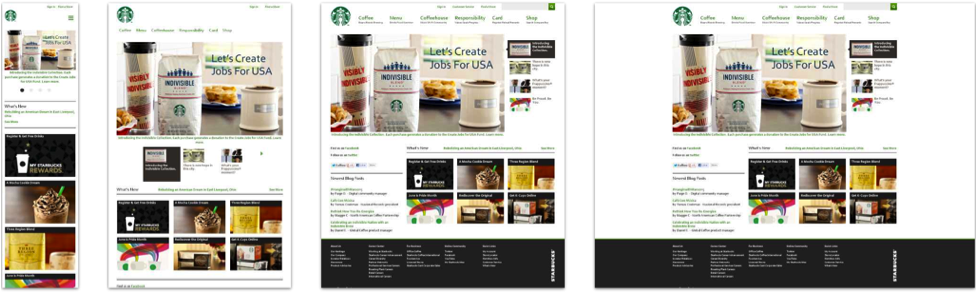 The Starbucks website
