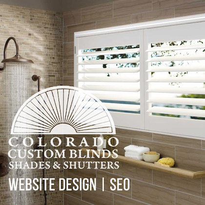 Colorado Custom Blinds, Shades, and Shutters